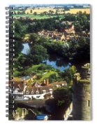 A View From Blarney Castle In Ireland Spiral Notebook