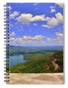 A View From Table Rock South Carolina Spiral Notebook