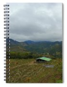 A View From The Top Of The Temple Of The Sun Spiral Notebook
