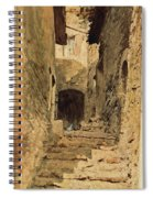 A View In Subiaco Spiral Notebook
