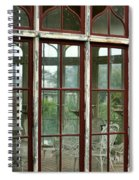 A View Into The Past Spiral Notebook