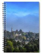 A View Of Bangor Spiral Notebook