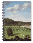 A View Of Bayhall - Pembury Spiral Notebook