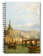 A View Of Dinant Spiral Notebook