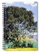 A View Of Lake Brienz From Bodeli Spiral Notebook