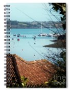 A View Of Mylor Harbour Spiral Notebook