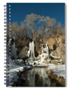 A View Of Rifle Falls Spiral Notebook