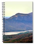 A View Of Table Rock South Carolina Spiral Notebook