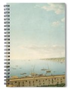 A View Of The Bay Of Naples Looking Southwest From The Pizzofalcone Toward Capo Di Posilippo Spiral Notebook