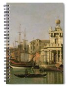 A View Of The Dogana And Santa Maria Della Salute Spiral Notebook