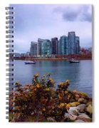 A View Of Vancouver Spiral Notebook