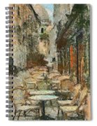 A View On The Sacre Coeur Spiral Notebook