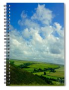 A View Over Exmoor Spiral Notebook
