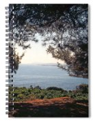 A View To The Sea Spiral Notebook