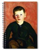 A Village Boy Spiral Notebook