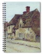A Village Street Kent Spiral Notebook