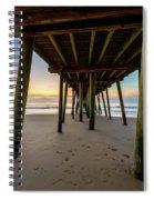 A Virginia Beach Morning Spiral Notebook