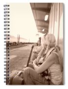A Waiting Game Spiral Notebook