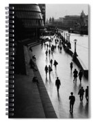 A Walk Along The Thames Spiral Notebook