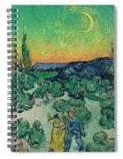 A Walk At Twilight Spiral Notebook