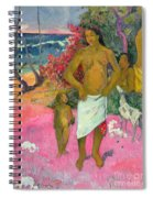 A Walk By The Sea Spiral Notebook