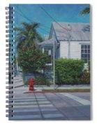 A Walk In Key West Spiral Notebook