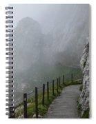 A Walk In The Clouds Spiral Notebook