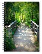 A Walk In The Park Spiral Notebook