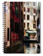 A Walk In Venice Spiral Notebook