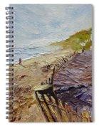A Walk On The Beach Spiral Notebook