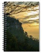 A Warm Autumn Morning Spiral Notebook