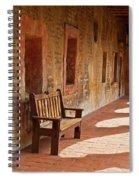 A Warm Welcome, Mission San Juan Capistrano, California Spiral Notebook