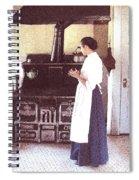 A Watched Pot Spiral Notebook