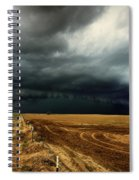 Nature's Watering Of The Crops Spiral Notebook
