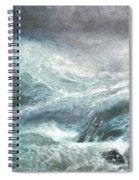 a wave my way by Jarko Spiral Notebook