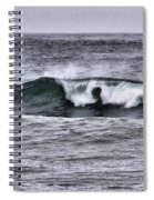 A Wave On The Ocean Spiral Notebook