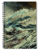 A Wave Spiral Notebook
