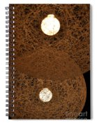 A Web Of Photons Spiral Notebook