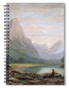 A Welsh Valley Spiral Notebook