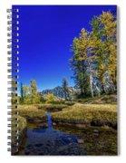 A Western Autumn Spiral Notebook