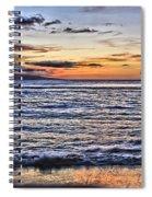 A Western Maui Sunset Spiral Notebook