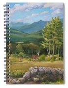 A  White Mountain View Spiral Notebook