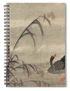 A Wild Goose Spiral Notebook