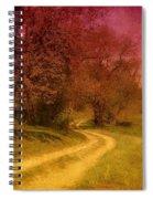 A Winding Road - Bayonet Farm Spiral Notebook