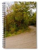 A Winding Road 2  Spiral Notebook