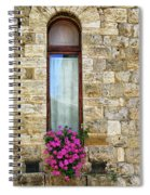 A Window In Florence Spiral Notebook
