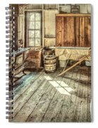 A Window To The Past Spiral Notebook