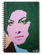 A J Winehouse Spiral Notebook