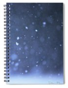 A Snowy Afternoon Spiral Notebook