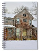 A Winter Haunting Spiral Notebook
